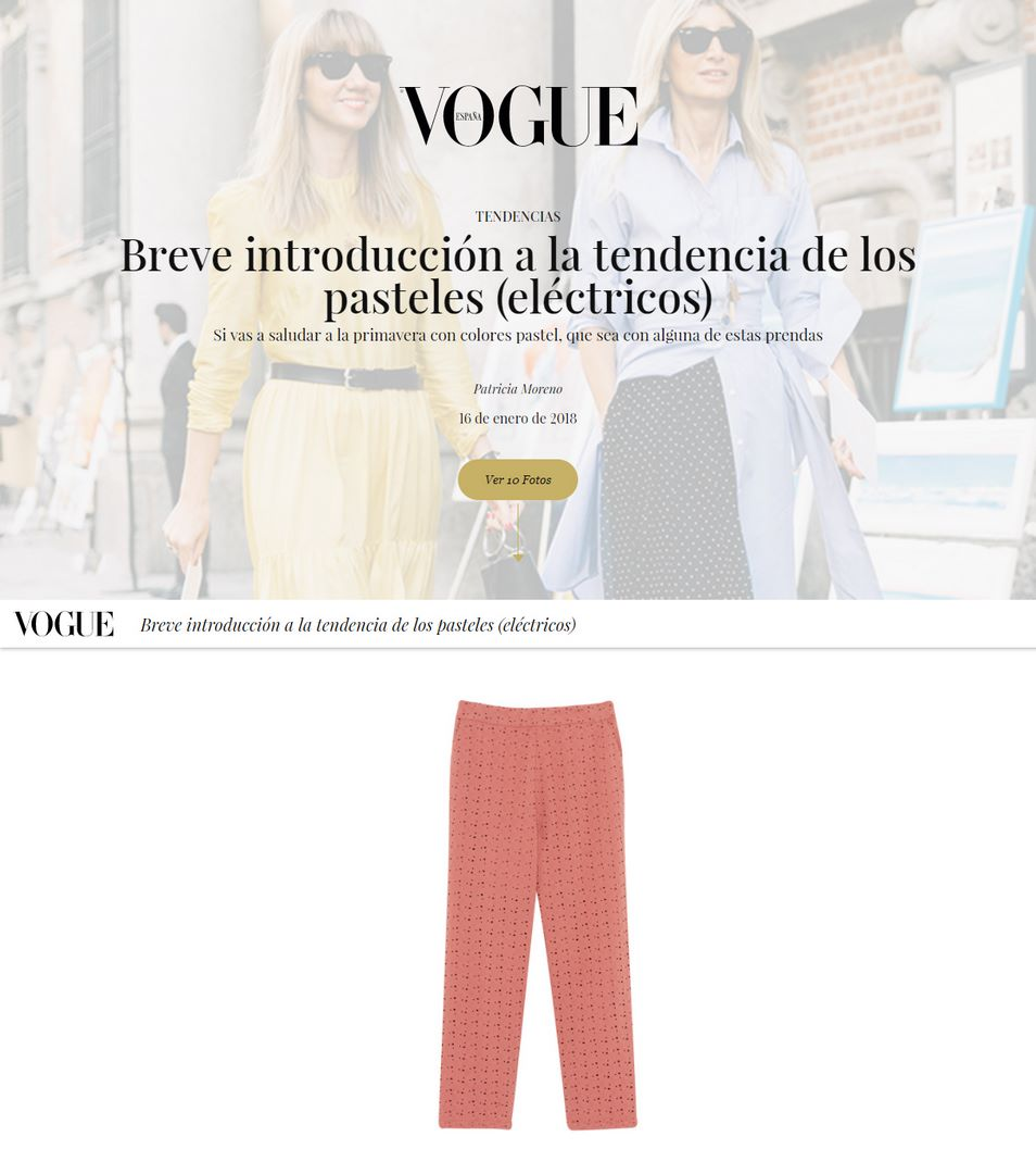 Vogue Colores Pastel